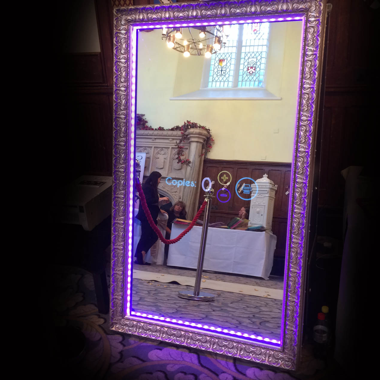 Giggling Genie Magic Mirror Photo Booth Hire